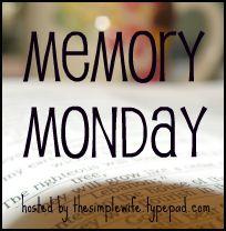 Memory Monday