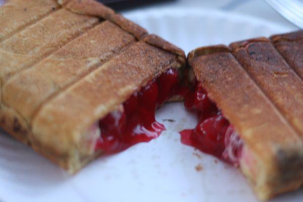 Pie Iron Recipe 6 Cherry Pie Mustard Seeds