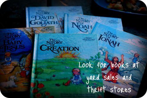 Yard sale books