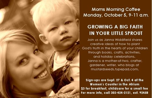 Mom Morning Coffee Back Info