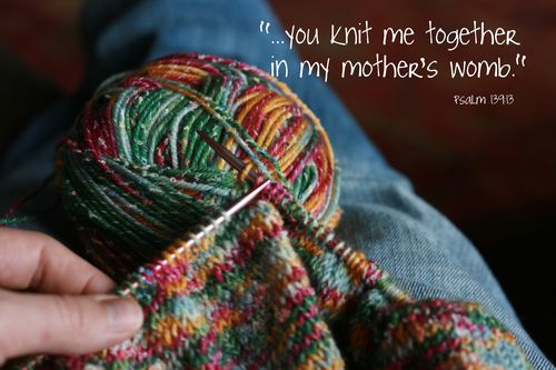 Knit me together