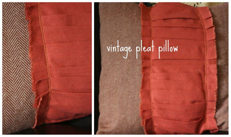 Vintage pleat