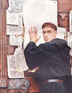 Luther reformation day