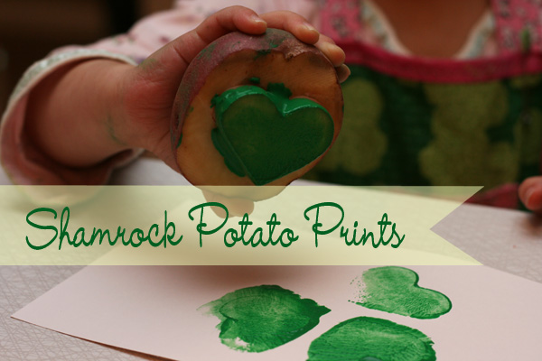 Shamrock prints tutorial