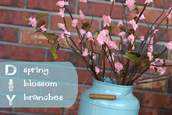 DIY: Spring Branches