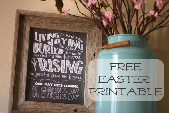 Free Easter Printable at Mustard Seeds